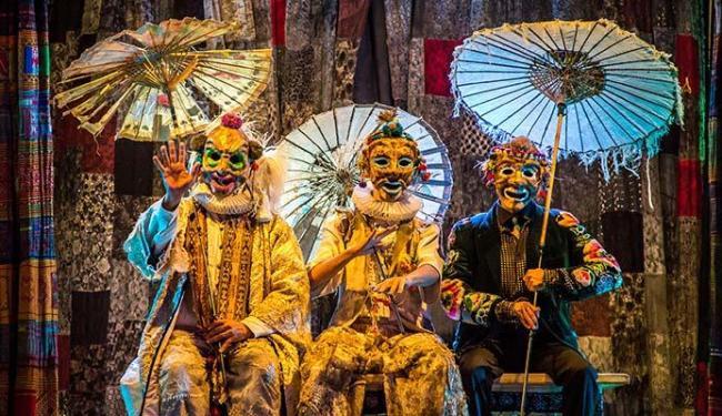 Gigantes da Montanha é um dos espetáculos da companhia - Foto: Guto Muniz   Divulgação
