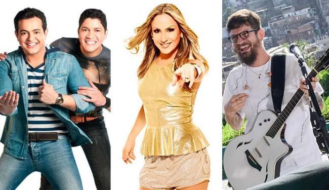 Henrique & Diego, Claudia Leitte e Saulo são algumas das atrações da festa - Foto: Divulgação