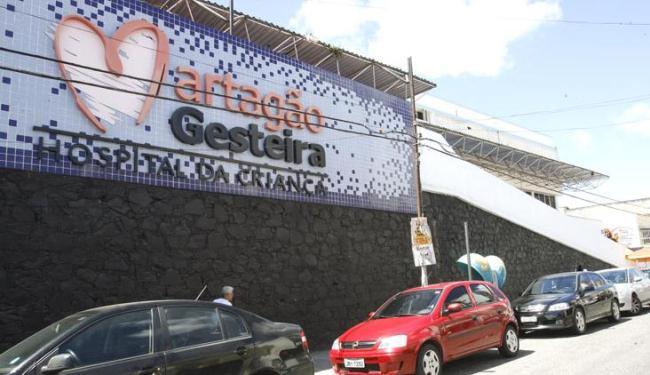 O garoto foi transferido para Martagão Gesteira nesta terça-feira, 8, e passa bem - Foto: Gildo Lima | Ag. A TARDE