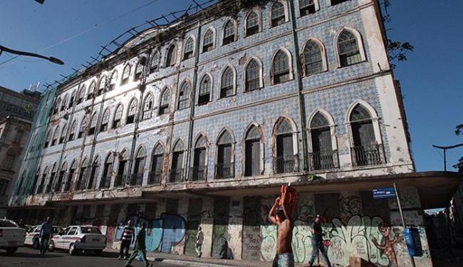 Quatro dos sete imóveis darão lugar ao Museu da Música, no Comércio - Foto: Lúcio Távora l Ag. A TARDE l 02.04.2014