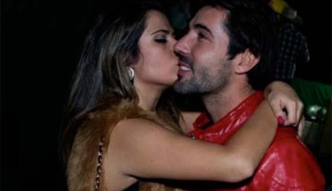 Jéssica Costa e Sandro Pedroso juntos em outro evento - Foto: Coluna Fabíola Reipert | R7 | Reprodução