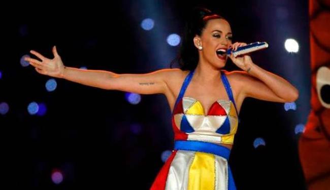 Katy Perry é uma das atraçõçes do Rock in Rio - Foto: Divulgação