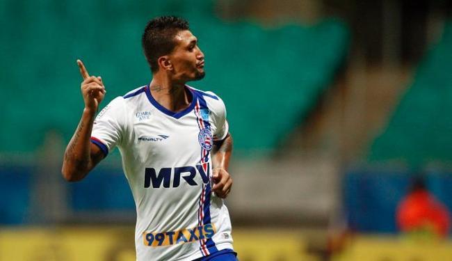 Jogador voltou aos trabalhos na tarde desta quarta-feira, 23 - Foto: Raul Spinassé | Ag. A Tarde