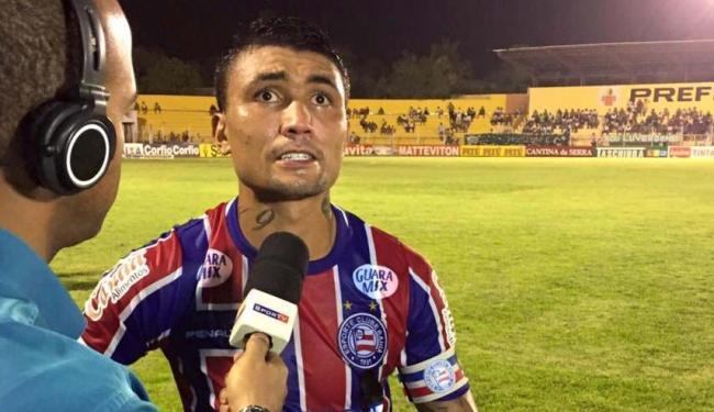 Kieza marcou um dos gols do embate contra o Luverdense - Foto: Reprodução | Facebook | E.C. Bahia