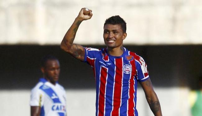 Atacante é o artilheiro do time nesta temporada - Foto: Eduardo Martins   Ag. A TARDE   15.03.2015