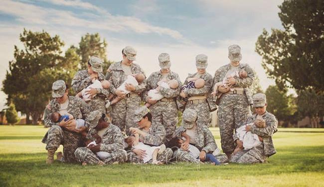10 militares norte-americanas participaram da imagem - Foto: Reprodução | Facebook
