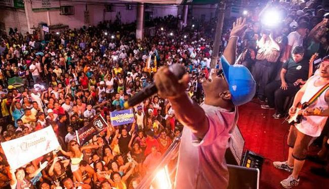 Márcio Victor comemorou aniversário com arrastão na Liberdade - Foto: Filipe Rodrigues | Divulgação
