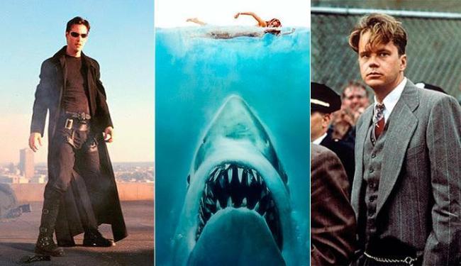 Matrix, Tubarão e Um Sonho de Liberdade são alguns dos filmes do Clássicos Cinemark - Foto: Divulgação