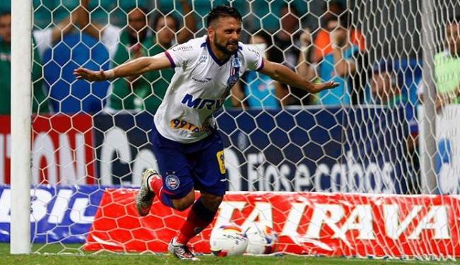 Maxi é o jogador mais baixo do Bahia, com 1,64 m - Foto: Eduardo Martins | Ag. A TARDE
