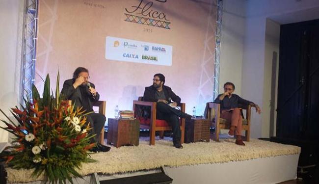 Mesa redonda marcou o lançamento da Flica em Salvador - Foto: Gislene Ramos | Ag. A TARDE