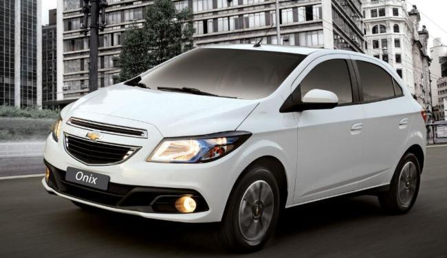 O Chevrolet Onix 1.4 flex cumpre o seu papel - Foto: Divulgação Chevrolet