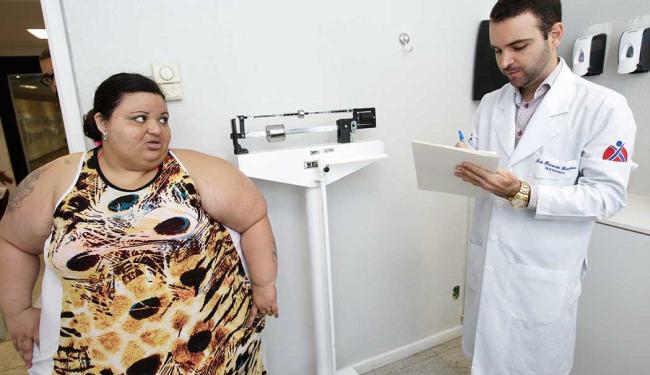 Pré-operatório exige uma acentuada redução de peso - Foto: Marco Aurélio Martins | Ag. A TARDE