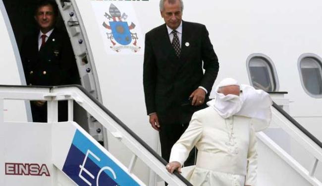 Papa inicia viagem histórica a Cuba - Foto: Agência Reuters