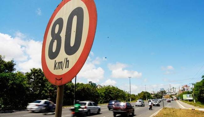Avenida Paralela é um dos alvos da avaliação sobre limite de velocidade - Foto: Joá Souza | Ag. A TARDE