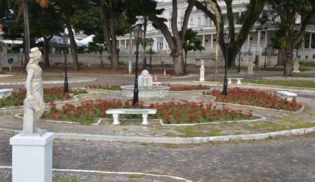 Até então, R$ 120 mil foram investidos para a recuperação do Passeio Público - Foto: Jefferson Vieira   Divulgação