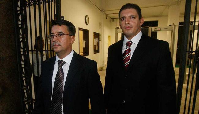 Pastor Fernando Aparecido e bispo Joel Miranda - Foto: Luané Parracho | Ag. A TARDE, Data: 25/02/2010