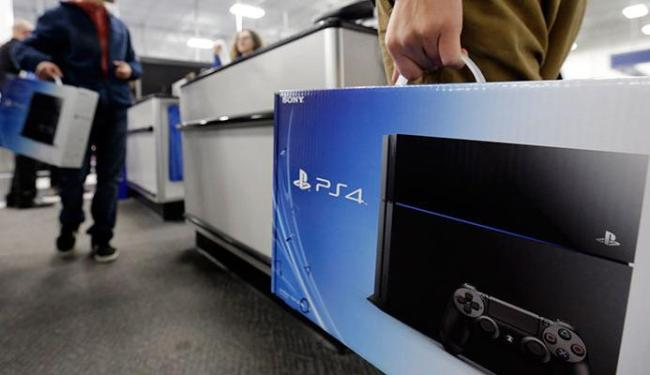 Sony já vendeu mais de 7 milhões do console, e disse que já está lucrando - Foto: Agência AP