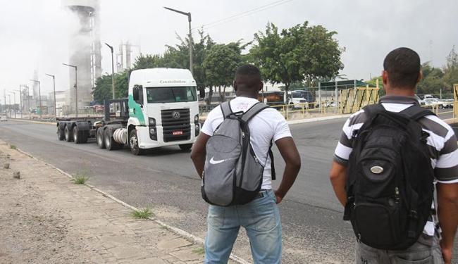 Funcionários de três unidades no Polo foram evacuadas após vazamento - Foto: Marco Aurélio Martins | Ag. A TARDE