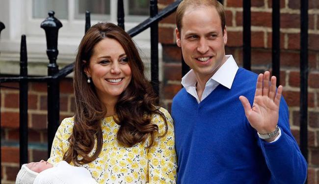 Kate deu à luz Charlotte em maio deste ano - Foto: AP Photo | Kirsty Wigglesworth