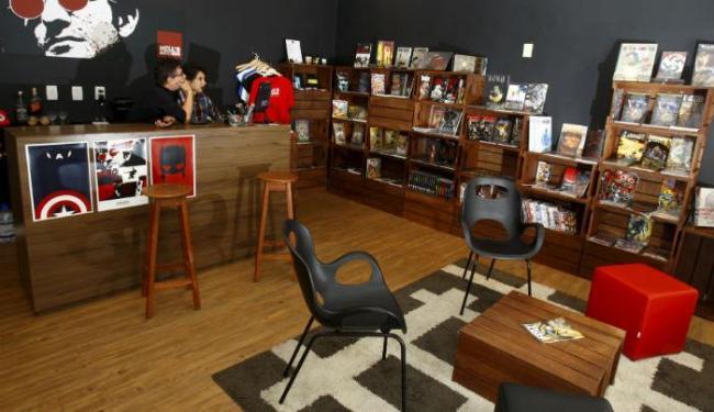 A loja de quadrinhos Hell´s Kitchen - Foto: Fernando Vivas | Ag. A TARDE