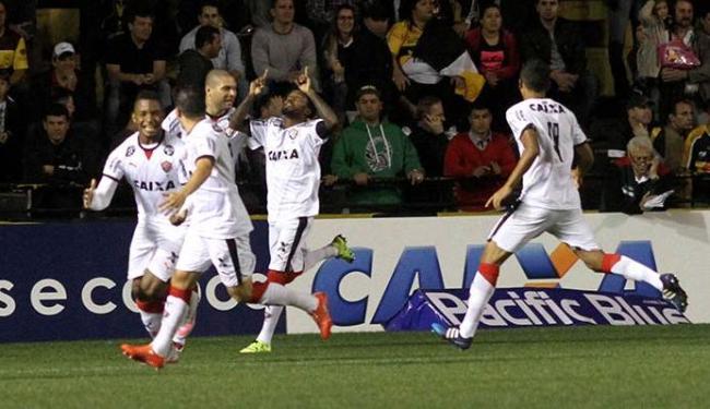 Rhayner marcou dois gols em uma mesma partida pela primeira vez na carreira - Foto: Estadão Conteúdo