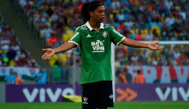 Ronaldinho ganhou R$ 2 milhões por passagem no tricolor - Foto: Bruno Haddad | Fluminense FC