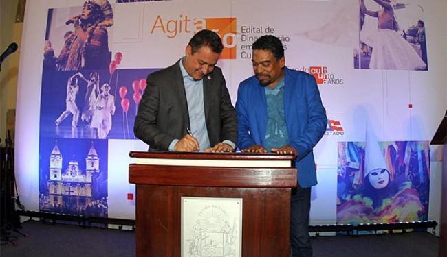 Governador Rui Costa e secretário Jorge Portugal - Foto: Divulgação l Manu Dias (GOV-BA)