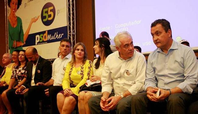 Rui Costa falou no encontro estadual do PSD, que aconteceu em Salvador - Foto: Luciano da Matta | Ag. A TARDE
