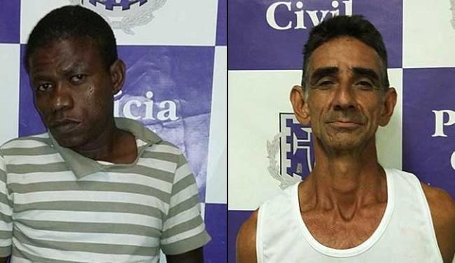 Eduardo e Manuel foram denunciados pelos cobradores - Foto: Ascom | Polícia Civil