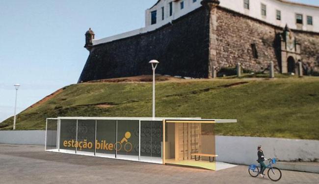 O bicicletário funcionará todos os dias da semana, das 6h às 0h, gratuitamente - Foto: Reprodução | Facebook | Salvador Vai de Bike
