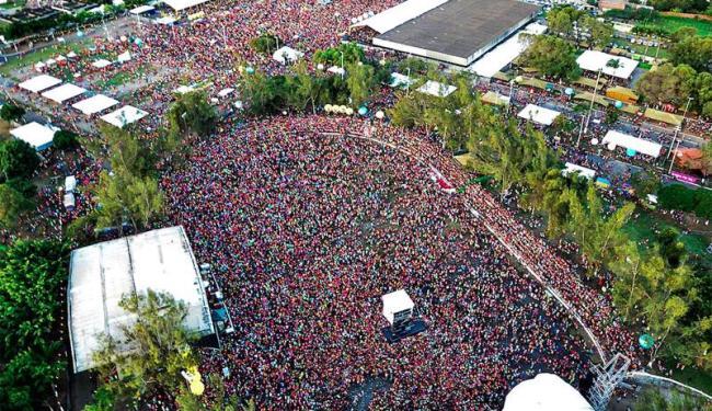 O público lotou o Parque de Exposições, na Paralela, na última edição do evento - Foto: Divulgação