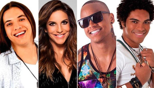 Wesley Safadão, Ivete, Léo Santana e a Timbalada são algumas das atrações da festa - Foto: Divulgação