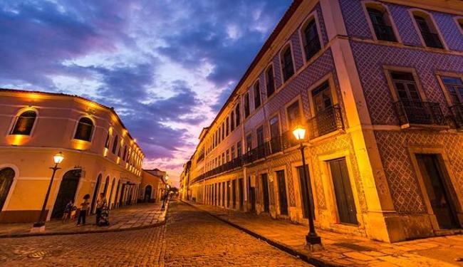 A Rua Portugal é a mais azulejada do Brasil e da América Latina - Foto: Governo do Maranhão | Divulgação