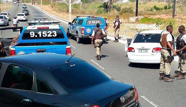 Perseguição acabou na avenida Caribé, em Stella - Foto: Reprodução | Whatsapp