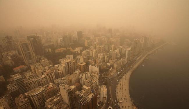 Tempestade afetou o Líbano, Síria, Israel, Jordânia e Chipre - Foto: Agência AP