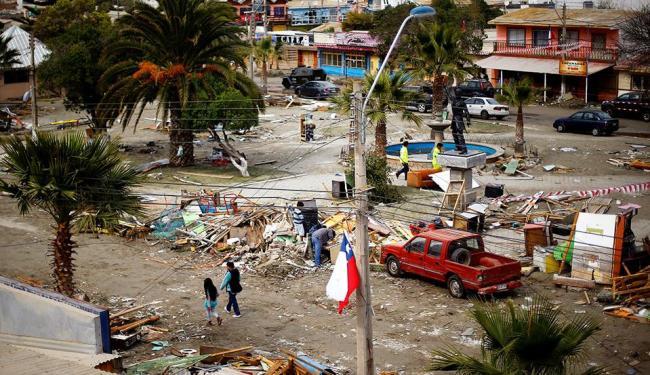 Cerca de seis pessoas continuam desaparecidas. - Foto: Ivan Alvarado | Agência Reuters
