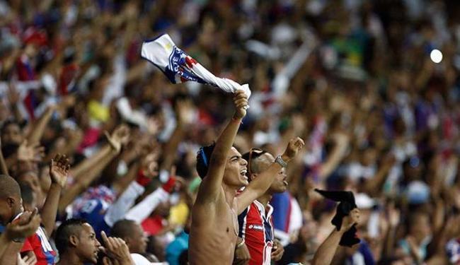 Bahia espera que torcedores lotem a Fonte Nova, ainda - Foto: Raul Spinassé | Ag. A TARDE 04.05.2014