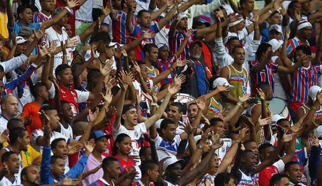 Torcedores do Bahia podem escolher que modalidade aderem ao programa - Foto: Eduardo Martins   Ag. A TARDE