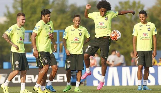 Willian é um dos titulares do time que enfrenta os EUA - Foto: Rafael Ribeiro l CBF
