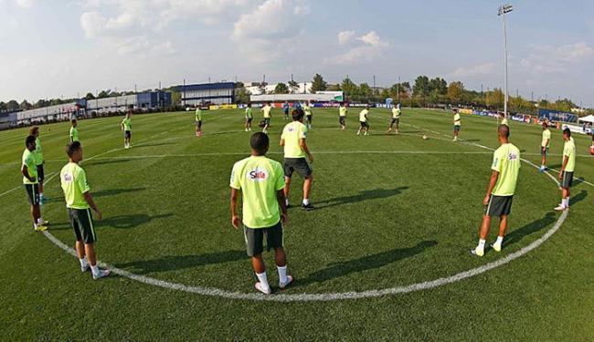 Jogadores da Seleção treinam em Nova Jérsei - Foto: Rafael Ribeiro l CBF l Divulgação