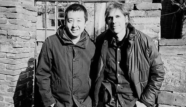 Jia Zhang-ke ao lado do diretor Walter Salles - Foto: Divulgação