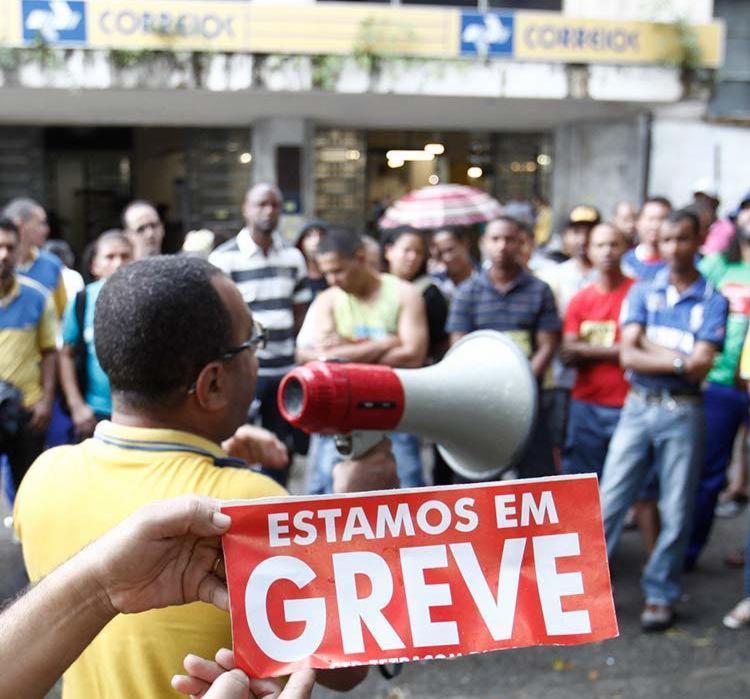 Servidores da Bahia aderiram à mobilização nacional - Foto: Fernando Amorim   Ag. A TARDE   16.09.2015