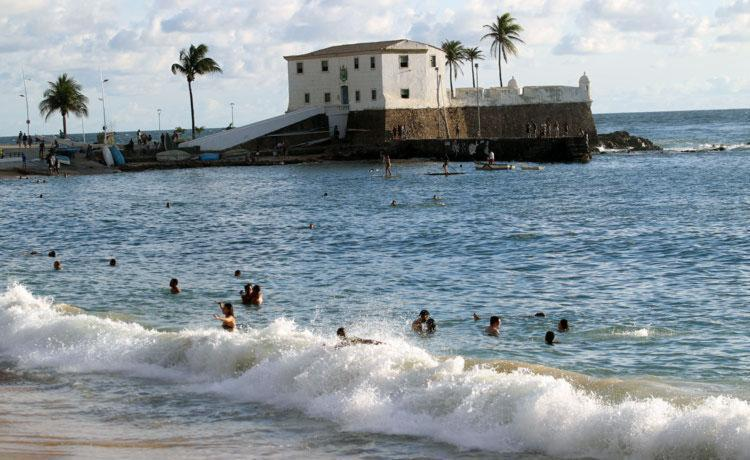 Porto da Barra é uma das 9 praias impróprias - Foto: Lucio Tavora   Ag. A TARDE