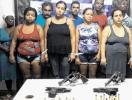 Nove suspeitos de tráfico são presos na região metropolitana - Foto: Ascom l Polícia Civil