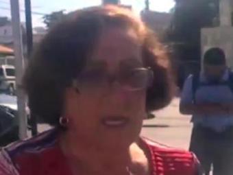 Maria diz que percebeu problema no freio antes de colidir na árvore - Foto: Reprodução   TV BAhia