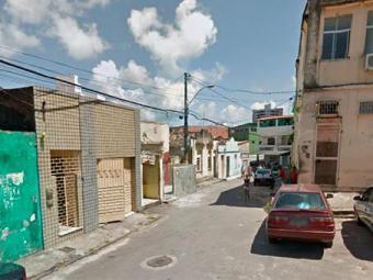 Crime ocorreu na rua dos Contentes, na Federação - Foto: Reprodução   Google Maps