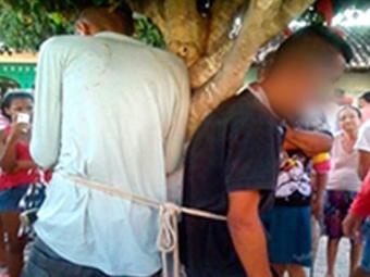 Um deles foi atingido por um tiro de espingarda no rosto - Foto: Reprodução | MonteSanto.net