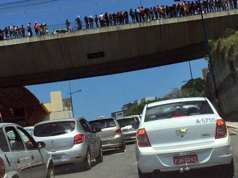 Trânsito ficou lento na região - Foto: Cidadão Repórter