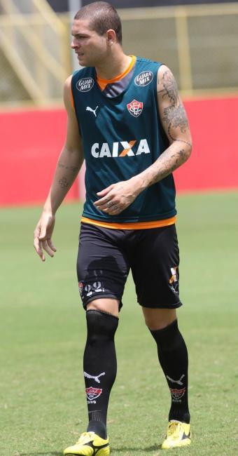 Jogador foi expulso contra o Paysandu pelo árbitro Wilton Pereira Sampaio (FIFA-GO) - Foto: Marco Aurélio Martins | Ag. A TARDE