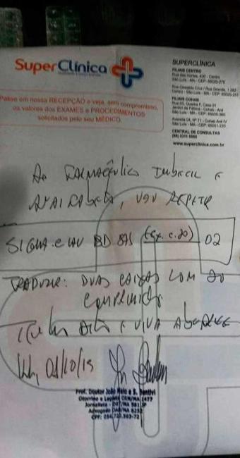 O CRM concordou com a atitude do farmacêutico de pedir uma nova receita - Foto: Reprodução